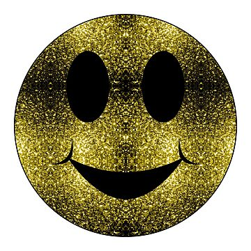 Sparkly Smiley Yellow Gold sparkles by PLdesign