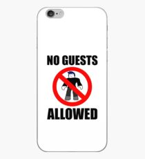 Roblox No Guests Allowed iPhone Case