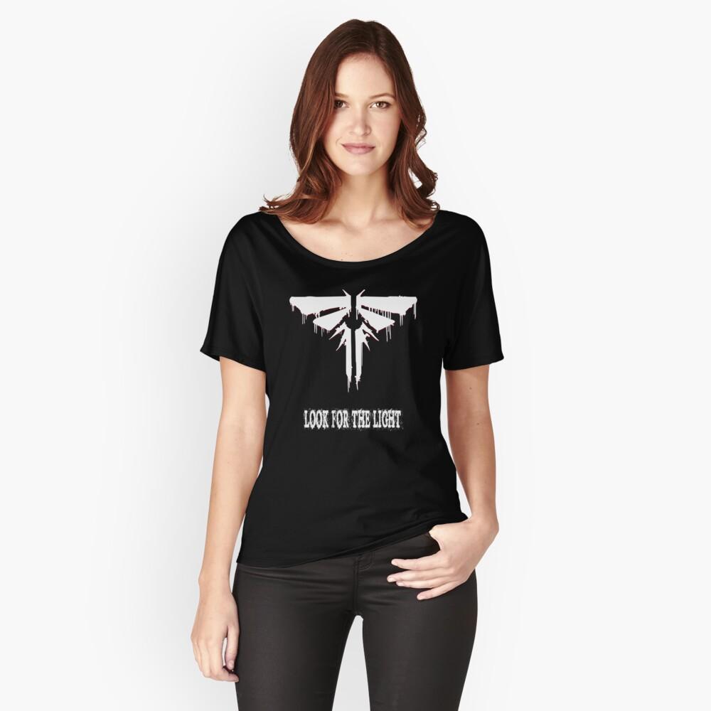 Letzte von uns Baggyfit T-Shirt für Frauen Vorne