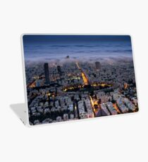 Here comes the fog  Laptop Skin