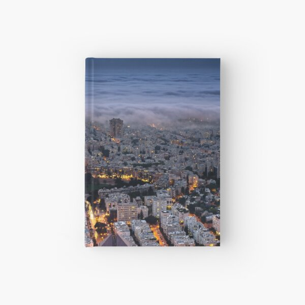 Here comes the fog  Hardcover Journal