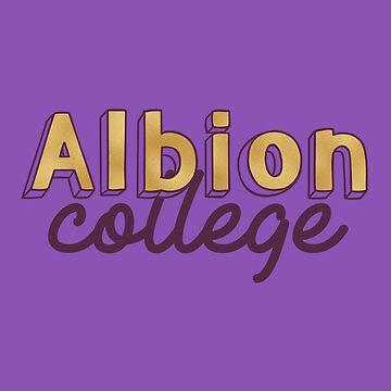 Albion College - Gold von its-anna