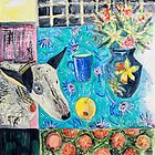Frida and fruit 3 by HelenAmyes