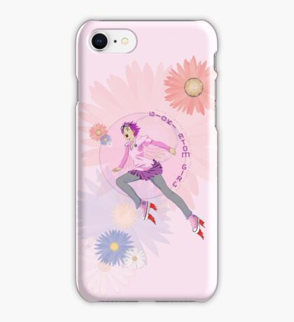 Gioki Atom Girl iPhone Case/Skin
