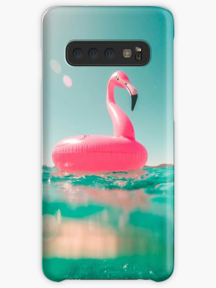 Pink plastic swan by jsebouvi
