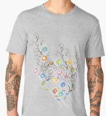 My Groovy Flower Garden Grows Men's Premium T-Shirt