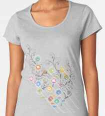 My Groovy Flower Garden Grows Women's Premium T-Shirt