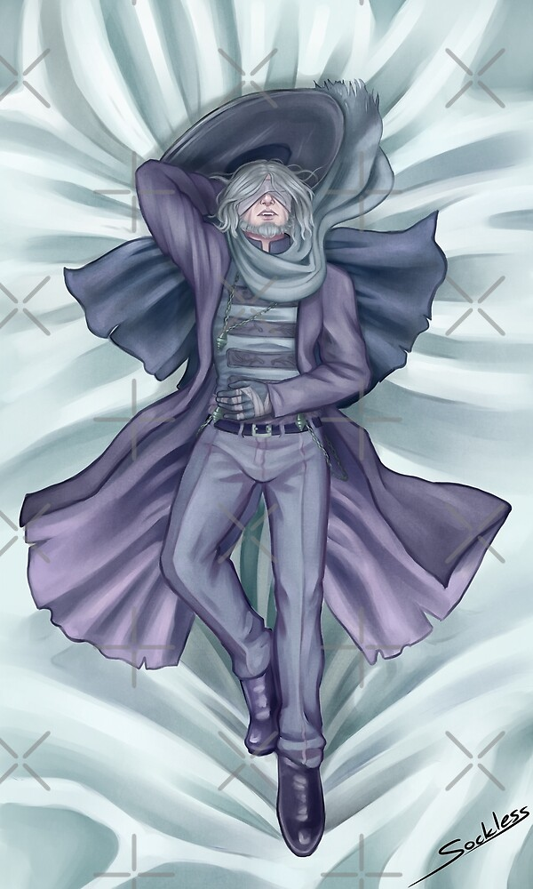 Father Gascoigne(Human) Body Pillow by Sockless