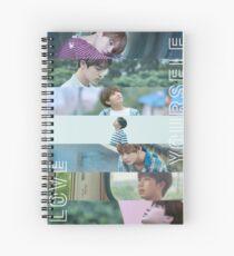 BTS LOVE YOURSELF Spiral Notebook