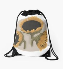 Sunflowers Drawstring Bag
