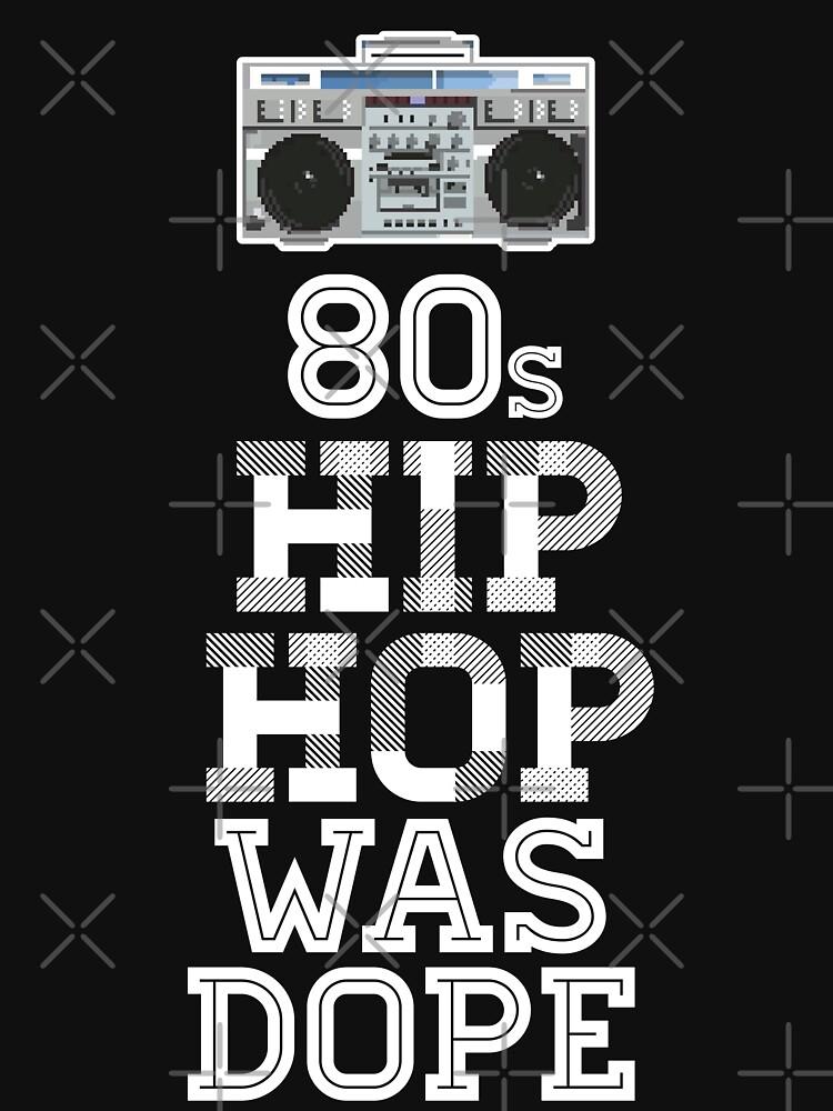 80s Hip-Hop Was Dope by japdua