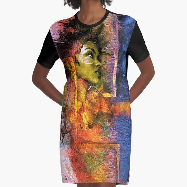 Miz Educate Graphic T-Shirt Dress