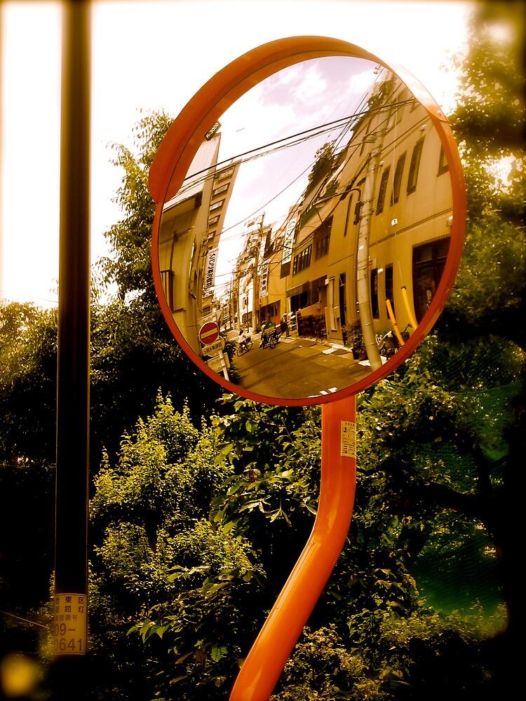 tokyo reflections by geikomaiko