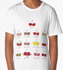 I Love My Cheeky Cherries! Long T-Shirt