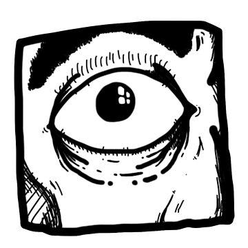 Eye in a box by keije