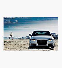 Audi A4 Photographic Print