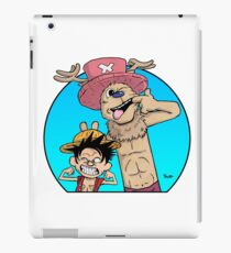 Monkey D. Luffy & Chopper vs Calvin & Hobbes iPad Case/Skin