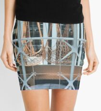 Shapes And Patterns Mini Skirt