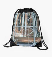 Shapes And Patterns Drawstring Bag