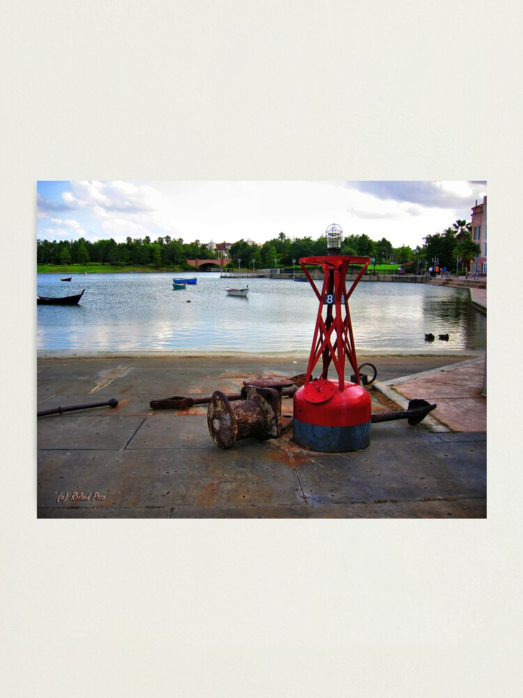 Alternate view of Red Buoy Photographic Print