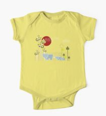 Elephant Family In The Forest Kids Clothes