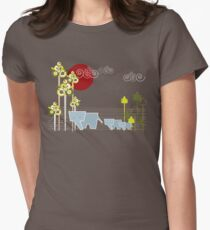 Elephant Family In The Forest T-Shirt