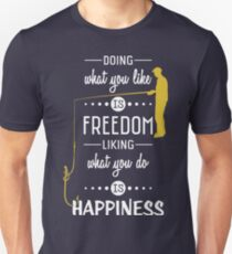Fishing is happiness T-Shirt