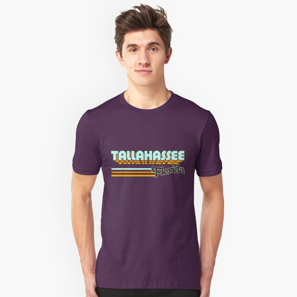 Tallahassee, FL | City Stripes Unisex T-Shirt Front