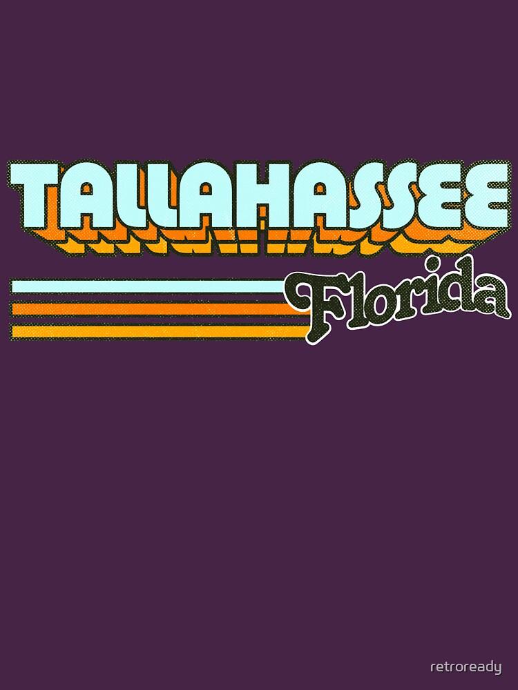 Tallahassee, FL | City Stripes by retroready