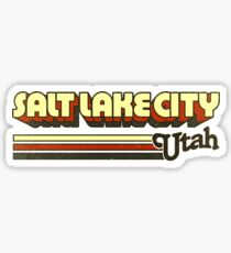 Salt Lake City, UT | City Stripes Sticker