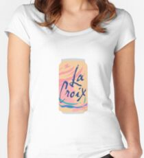 Pamplemousse La Croix Women's Fitted Scoop T-Shirt