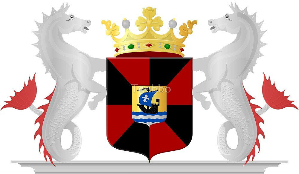 Coat of Arms of Almere, Netherlands by Tonbbo