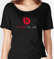 boost by psi (beats parody) Women's Relaxed Fit T-Shirt