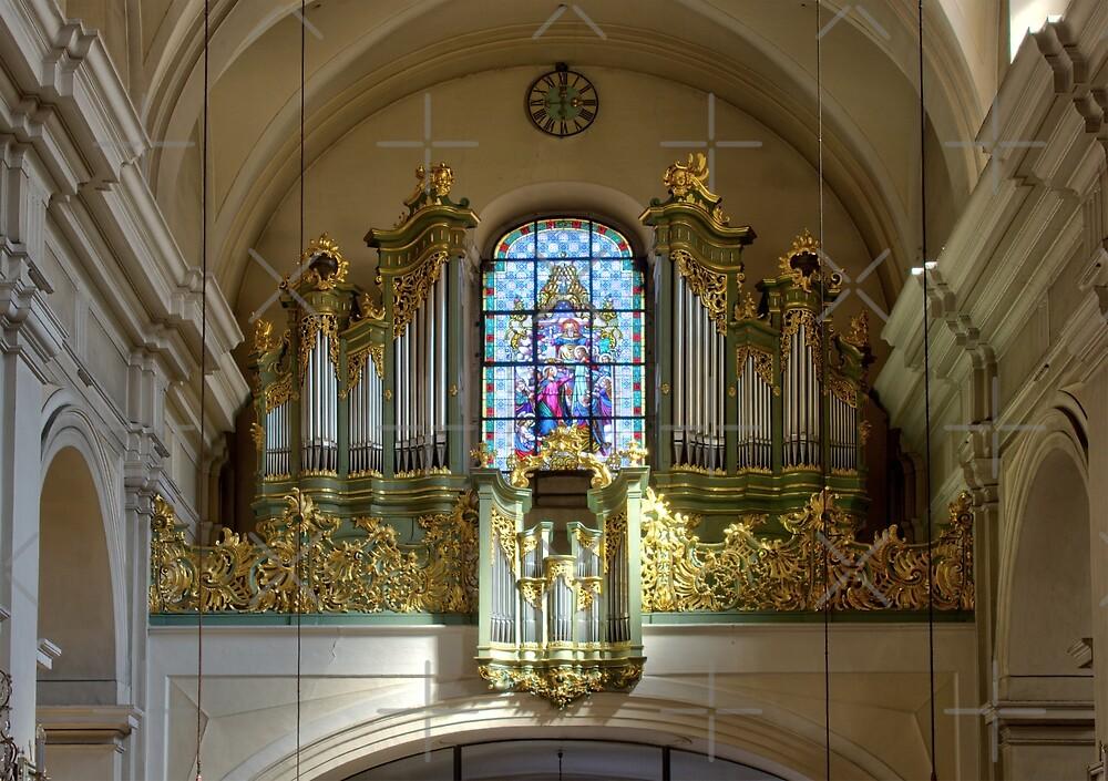 Pipe Organ Alserkirche, 1080 Vienna Austria by Mythos57