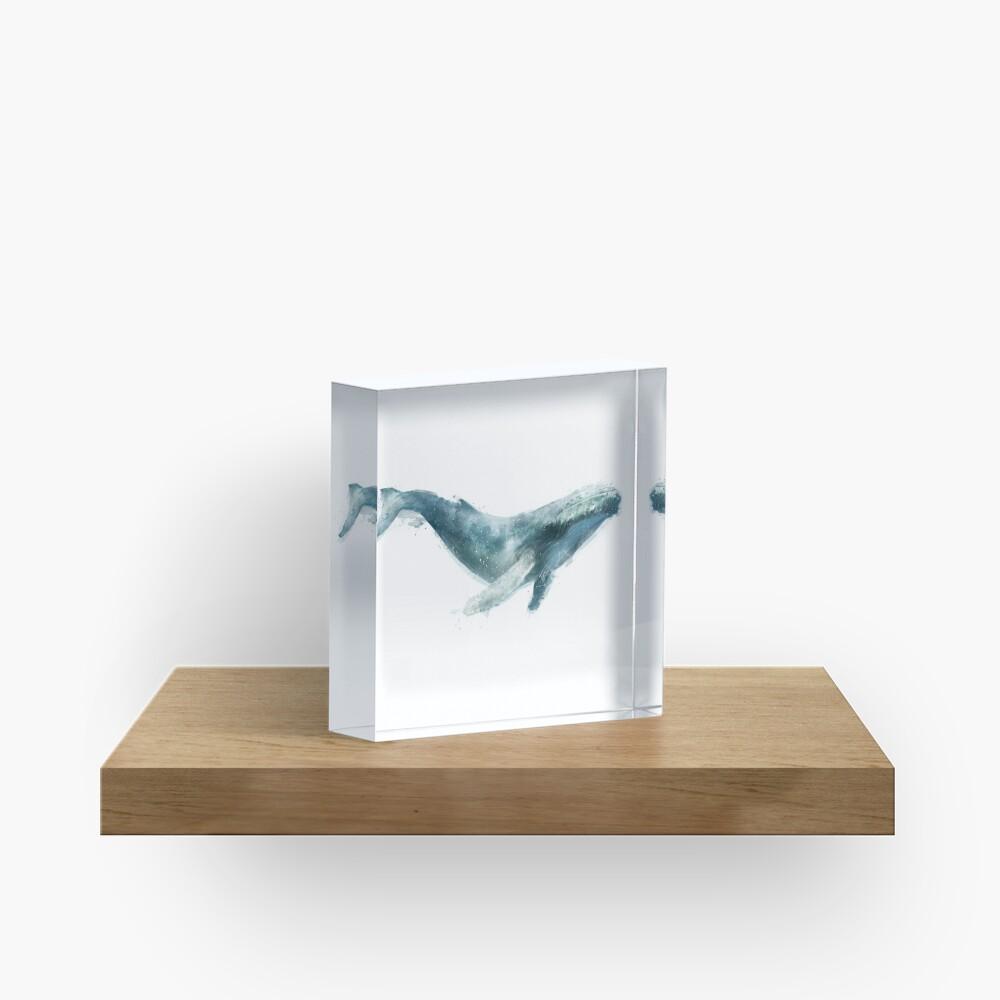 Humpback Whale Acrylic Block