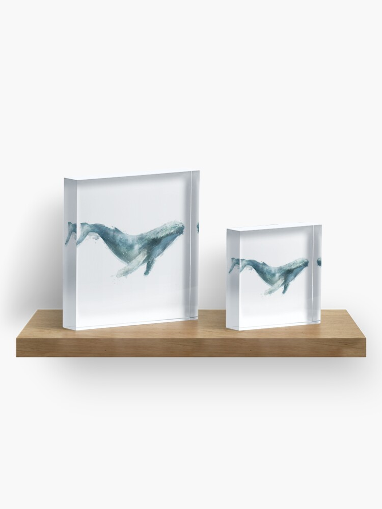 Alternate view of Humpback Whale Acrylic Block