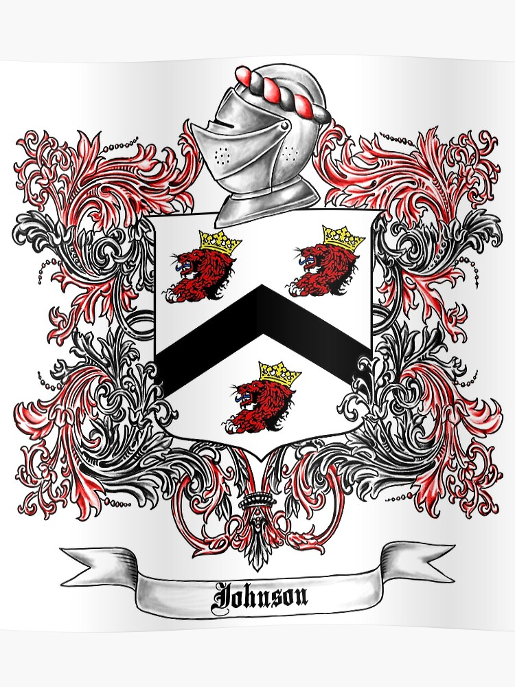 Johnson Family Crest 4 | Poster