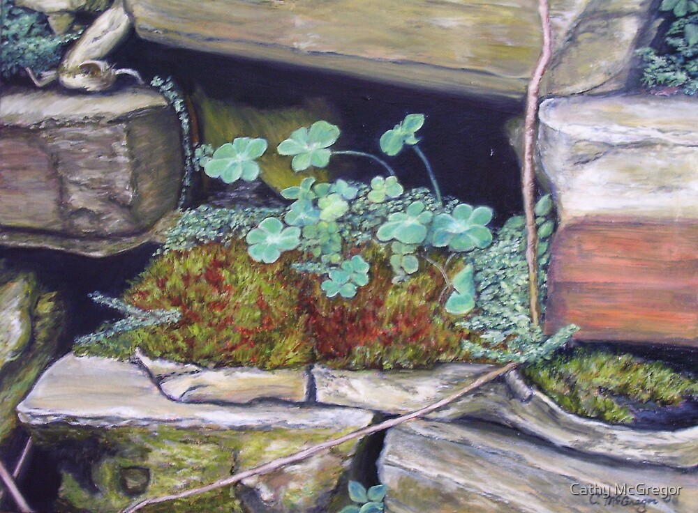 Mossy Nook by Cathy McGregor