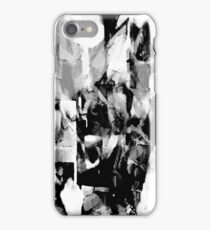 Psychmaster Ice Crystals BW iPhone Case/Skin