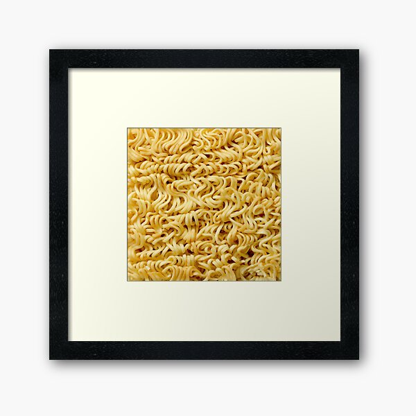 Ramen Framed Art Print