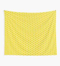 Hexagonal Jali Screen Pattern- India  Wall Tapestry