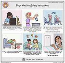 Binge Watching Safety Instructions by Upto4Players