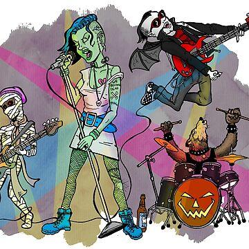 Monsters of Rock by clockworkmonkey