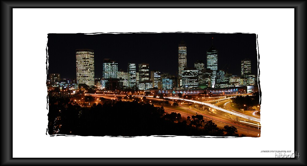 Perth Nightscape by hibbo04