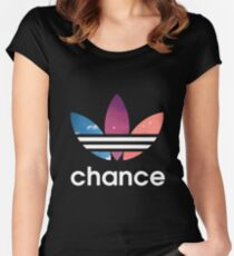 Chance the rapper phone case  Women's Fitted Scoop T-Shirt