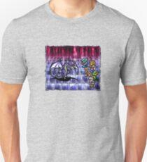 FF4 Bahamut Battle Unisex T-Shirt