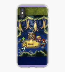 Chrono Trigger Camping Scene iPhone Case