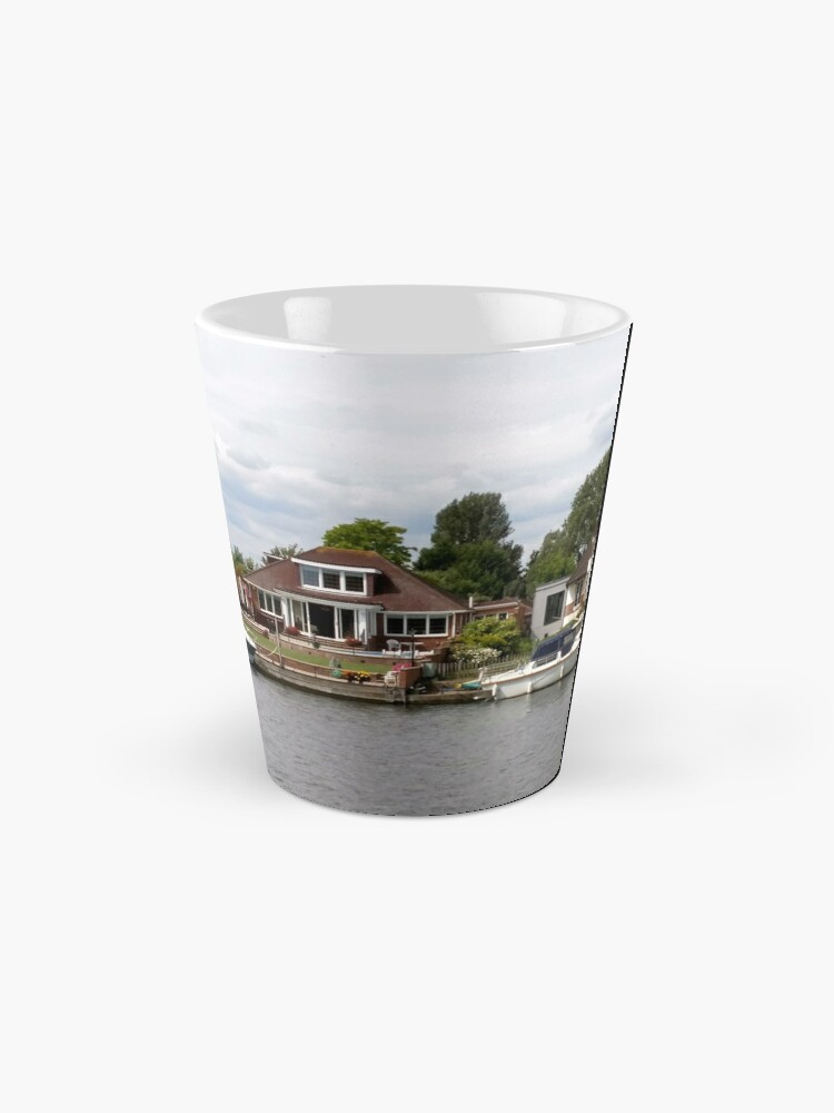Alternate view of Beautiful houses in Staines England Mug