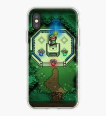 Vinilo o funda para iPhone Enlace de Zelda al Maestro Pasado Espada