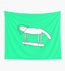 Space Dog Wall Tapestry